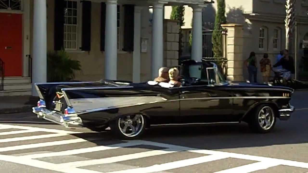 1957 Chevy Convertible Car - Cruising Charleston South ...