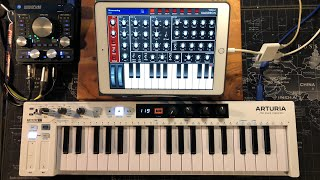 Kauldron Synth - 100% FREE Patch Bank by Les Production Zvon - Live iPad Demo
