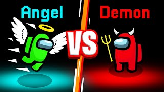 *NEW* ANGEL vs. DEMON ROLES! (Among Us)