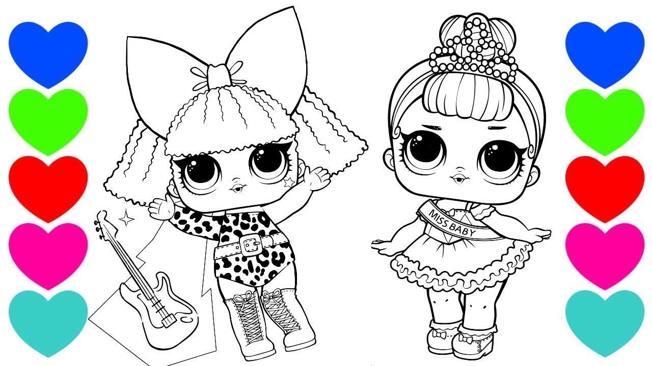 Pintar Desenhos Das Bonecas Lol Surpresa Lol Surprise Brasil