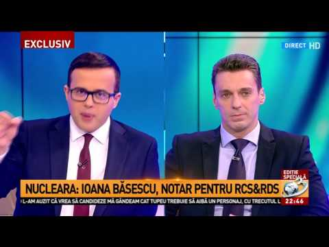 Nucleara: Ioana Băsescu, notar pentru RCSsiRDS