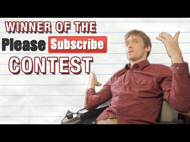 WINNER OF THE PLEASE SUBSCRIBE CONTEST