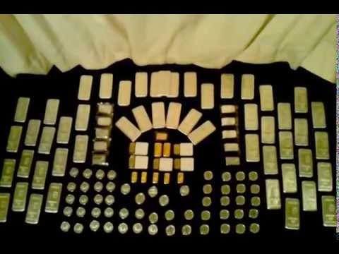 LARGE SILVER & GOLD BULLION COLLECTION