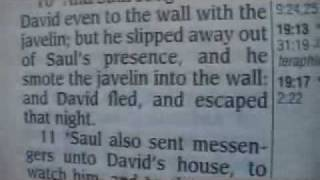 1 Samuel 19 Holy Bible (King James)
