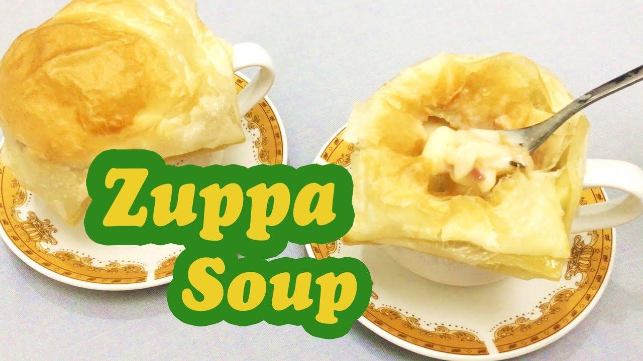 Resep Sederhana Cara Membuat Zuppa Soup Melted And Creamy Ala Rumahan