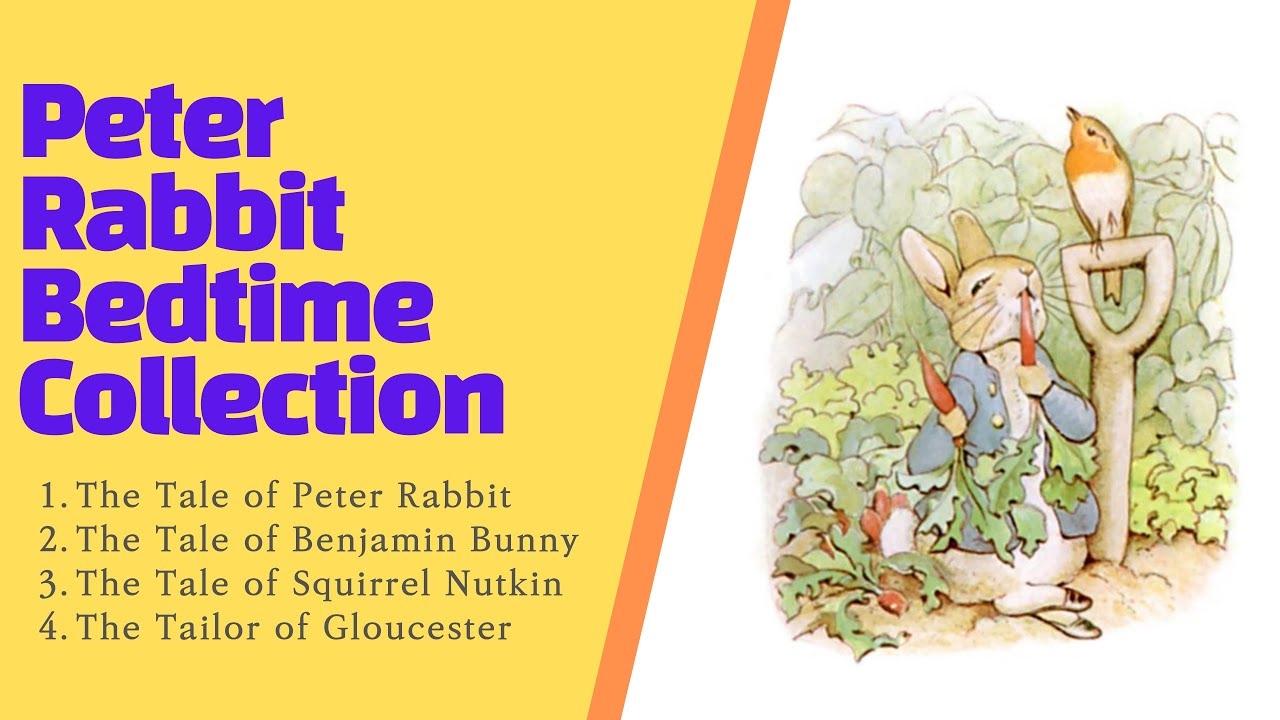 Download The Tale of Peter Rabbit Bedtime Story Collection 1-4 (Calming bedtime story, ASMR)