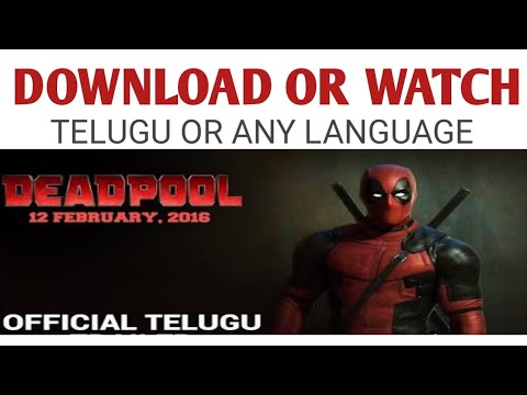 download deadpool movie in telugu