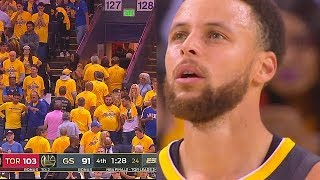 Warriors Fans Leave Early In Game 4 During The Last Potential Oracle Arena Game!