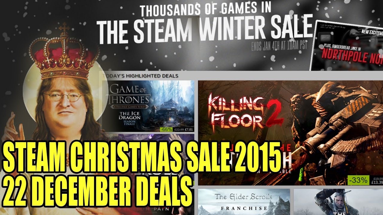 Steam Christmas Sale 2015 Launches! Buyers Guide For 22 December ...