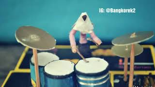 BOCAH NGAPA YAK - drum Cover Nur Amira Syahira