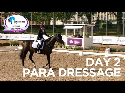 Great Britain also dominates on Day 2 of Para Dressage | Longines FEI European Championships