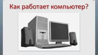 Как работает компьютер - видео для НАЧИНАЮЩИХ