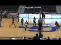 2017 PBC Volleyball Tournament: #7 UNC Pembroke vs. #2 USC Aiken