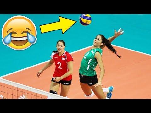 LIBERO SPIKE !? Funny Volleyball Libero Actions (HD)  