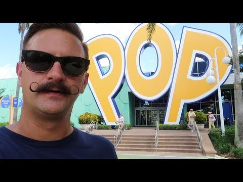 Walt Disney World's POP Century Resort Walking Tour | Hotel Tour, Pool Locations & More!