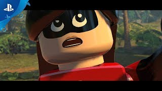LEGO The Incredibles - Parr Family Vacation Trailer | PS4
