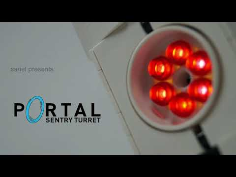 Portal 2 Neca Wizkids Blind Box Sentry Turrets Complete