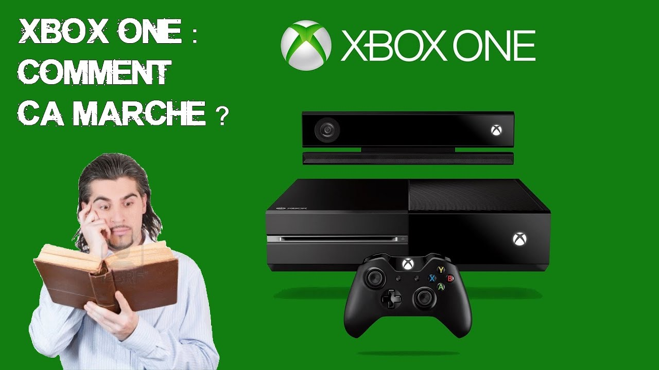 xbox one comment a marche pr sentation youtube. Black Bedroom Furniture Sets. Home Design Ideas