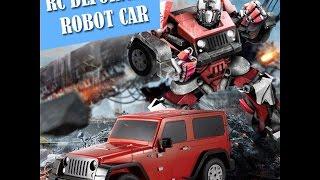 Robot Transformers có điều khiển từ xa biến hình Xe Jeep như phim