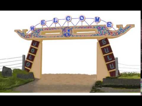 Iconic Jolo, Sulu Welcome Arc Clip-art