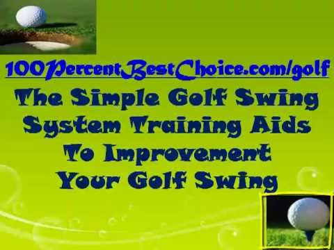 Golf Tips & Techniques:Simple Golf Swing Training Aids To Improve Your Golf Swing EASILY and QUICKLY