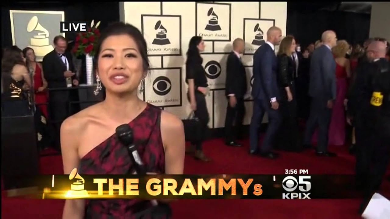 Kpix 5 Cbs Sf Betty Yu Reports Grammys 2016 Red Carpet Youtube