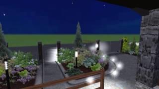 Ландшафтный дизайн участка 15 соток(Заказать дизайн-проект своего участка + 3D визуализацию по цене обычного проекта вы можете позвонив по теле..., 2012-08-28T19:47:35.000Z)