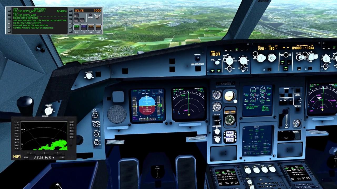 KJFK LFPG Approche LFPG XL Airways A330 200 / P3D 3 4