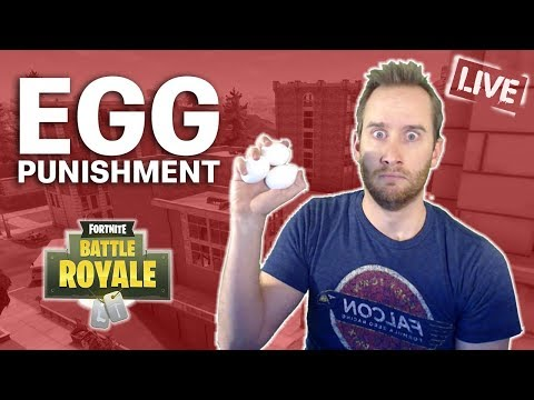 EGG Punishment In FORTNITE!