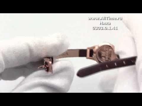 Женские наручные золотые часы Ника 0303.0.1.41