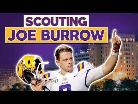 "[OC] Joe Burrow Scouting Report - WHY He's the NFL's #1 Overall Pick | Film Breakdown of Burrow's mastery of a classic west coast concept ""Doubles"" and how he reads defenses pre snap"