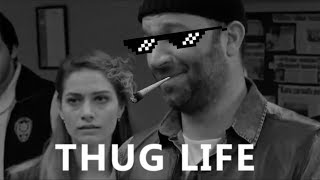 Arka Sokaklar Thug Life (Mesut Komiser,Hüsnü Komiser,Rıza Baba) 2017