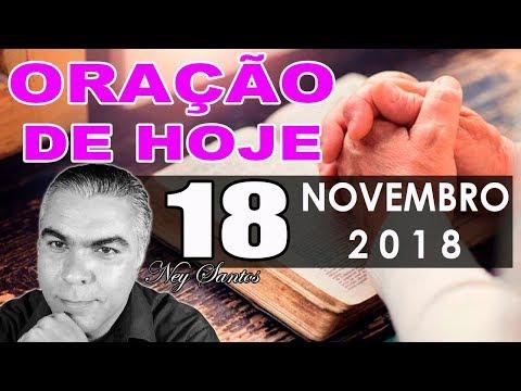 Oração de Hoje | Domingo dia 18 de Novembro de 2018