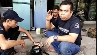 Cara mudah mengatasi compresor kulkas macet terkena air
