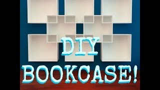 Diy Bookcase! Simple And Easy Fix For Any Clutter