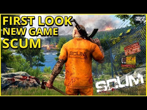 SCUM - First Look - New Open World Survival Game (Rust meets DayZ?) thumbnail
