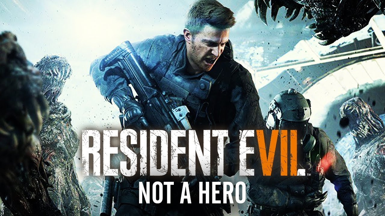 Resident Evil 7 Not A Hero All Cutscenes Game Movie 1080p Hd