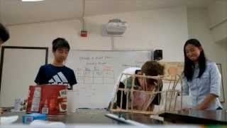 School Science: Project Bridge (strength To Weight Ratios)
