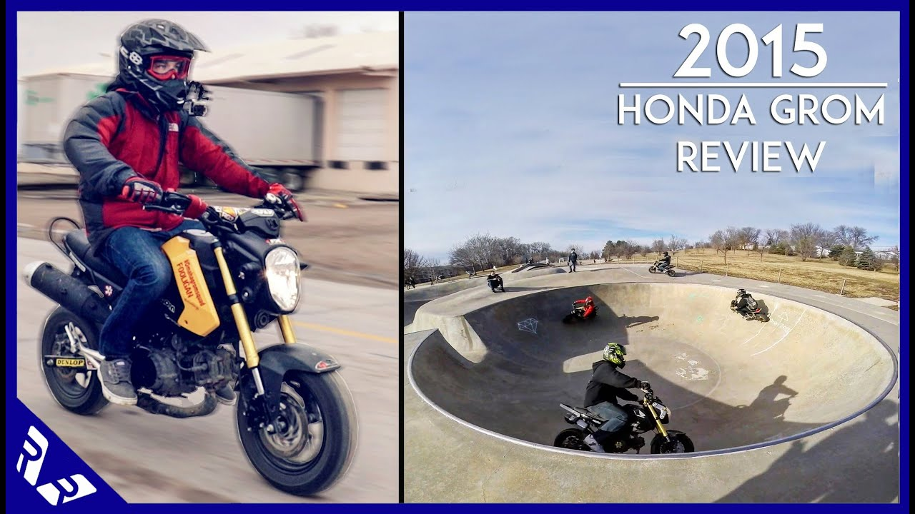 2015 Honda Grom >> 2015 Honda Grom Review | Comparison with Honda Navi | Fooligan | RWR - YouTube