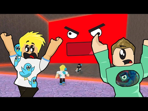 Crushed by a Speeding Angry Wall in Roblox! / Gamer Chad Plays