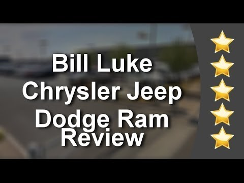 bill luke chrysler jeep dodge ram phoenix incredible five star review by kri youtube. Black Bedroom Furniture Sets. Home Design Ideas