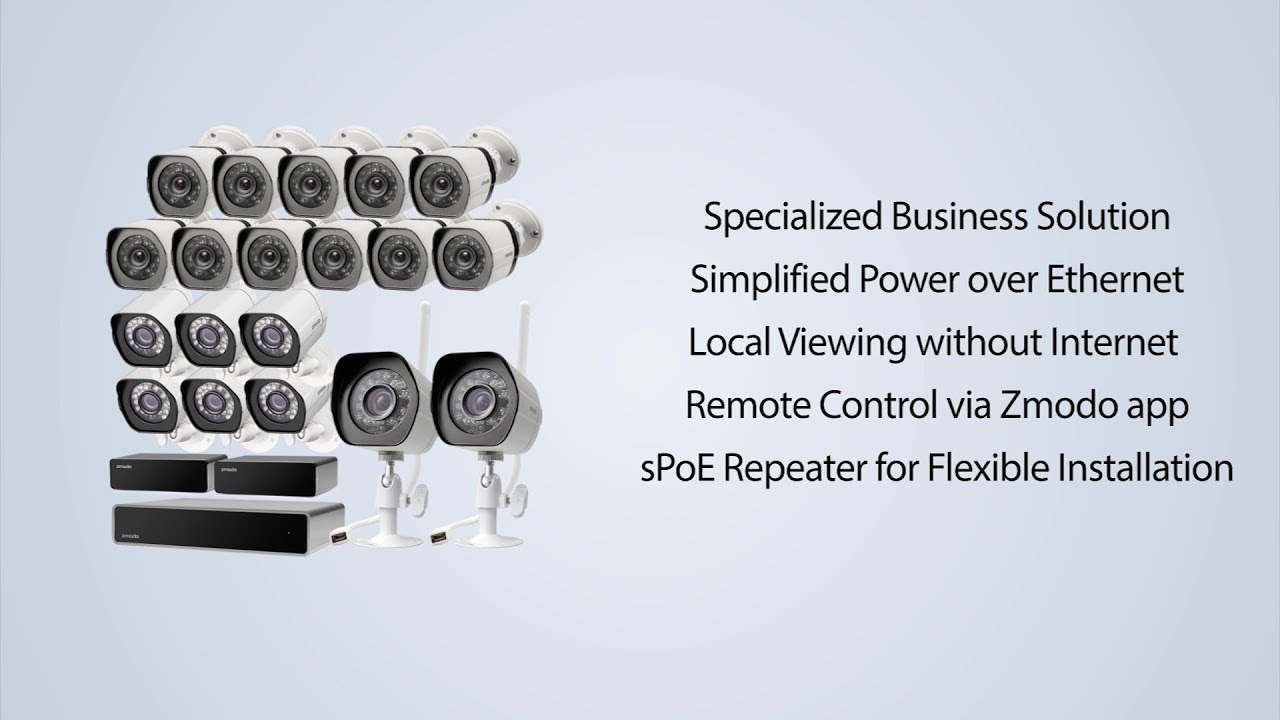 f180c825d72 Zmodo Simplified Business Security System - Setup Tutorial - YouTube