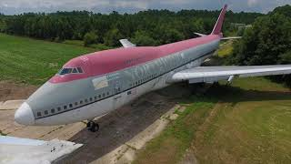 Abandoned Airplane Boneyard #747