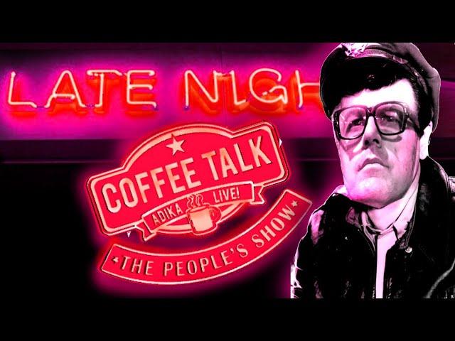 Musician Mark Slaughter, Comedian Earl Skakel! Late Night Coffee Talk Fun!