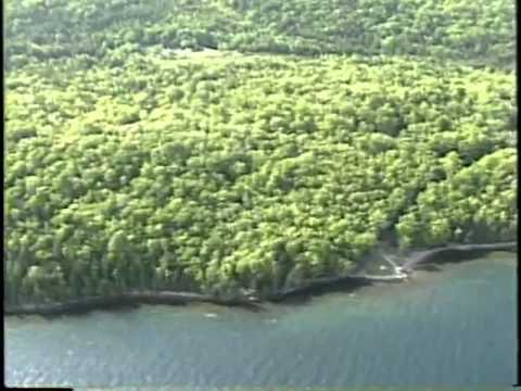 Aerial Survey, Part 8  Head of  Baddeck  Bay to  Ross  Ferry,  Great  Bras d' Or, Bras d'Or Lakes Sh