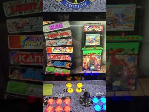 Arcade1up Street fighter upgrade 2400 games from J M Arcades