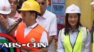 Barangay hall na nakatayo sa bangketa sa QC giniba na   TV Patrol