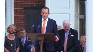 Video New UVa President, James Ryan's Speech on the Lawn download MP3, 3GP, MP4, WEBM, AVI, FLV Agustus 2018