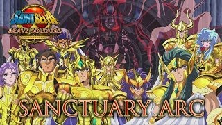 Saint Seiya Brave Soldiers Chapter Sanctuary Gameplay Longplay