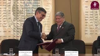 Tema:Acuerdo de cooperación entre la UNMSM y la Universidad de Lisboa